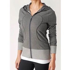 Lululemon Live Simply Colorblock Full Zip Hoodie